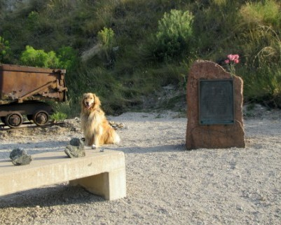 White Ash Memorial Plaque